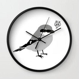 Northern Shrike Wall Clock
