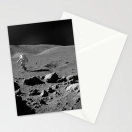 Apollo 17 - Astronaut Running Stationery Cards