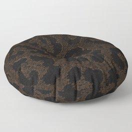 stain pattern panther fur, wild cat Floor Pillow