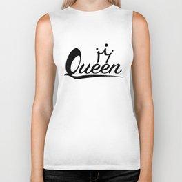 Queen Crown Biker Tank