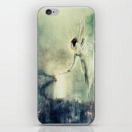 Spirit of the Night by john Atkinson Grimshaw iPhone Skin