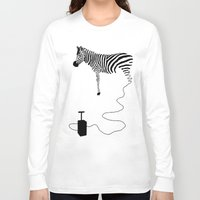 future Long Sleeve T-shirts featuring future by Panic Junkie