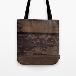 Ghost Town Door Tote Bag