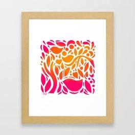 Sunshine Garden Framed Art Print