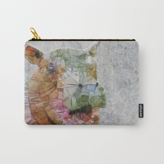 abstract hippo Carry-All Pouch
