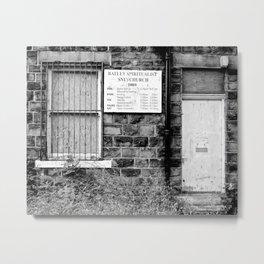 Abandoned: Batley Spiritualist Church Metal Print