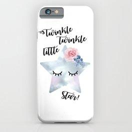 Twinkle, twinkle little star iPhone Case