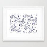 penis Framed Art Prints featuring Penis Pattern by Daniel McLaren