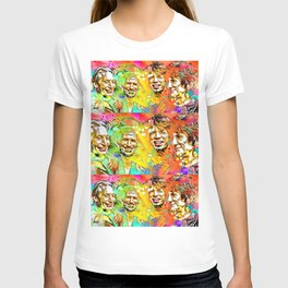 The Stones Pop Art Painting T-shirt