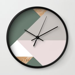 KALEIDOS #1 Wall Clock
