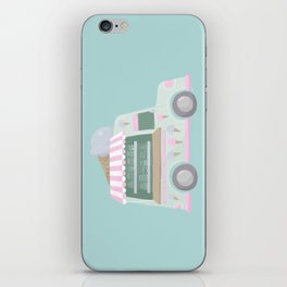 Ice Cream Truck iPhone Skin