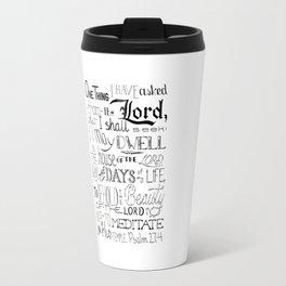 All The Days, Bible Verse Art Travel Mug