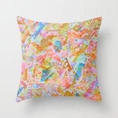 seahorse jockey Throw Pillow