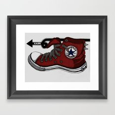A Step In The Right Direction Framed Art Print