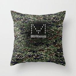MCHG Brotherhood Camouflage Throw Pillow