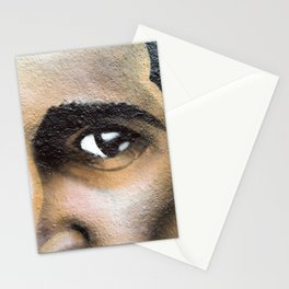 Tesla Eyes by Topaz Stationery Cards