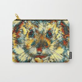 AnimalArt_Hamster_20170901_by_JAMColorsSpecial Carry-All Pouch