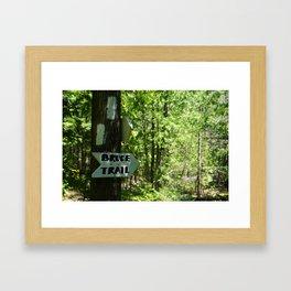 BRUCE TRAIL Framed Art Print