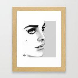 """LanaDelRey"" Framed Art Print"
