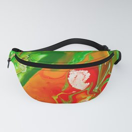 Emerald Marble Fanny Pack
