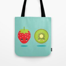 Strawberry Kiwi Tote Bag