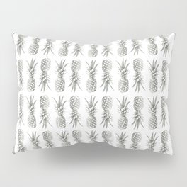 Pineapple Photography Print | Minimalism | Tropical Pattern Pillow Sham