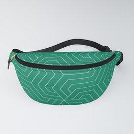 Spanish viridian - green - Modern Vector Seamless Pattern Fanny Pack