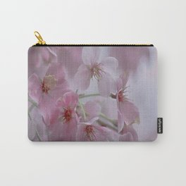 Delicate Pink Blossoms Carry-All Pouch