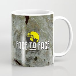 Face To Face - Ape & Man Coffee Mug