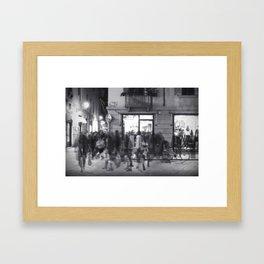 La Vasca - Santo Stefano, Reggio Emilia Framed Art Print