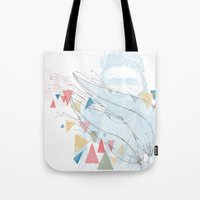 native Tote Bags featuring Native by bri musser