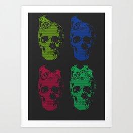4 way Art Print