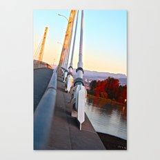 A bridge very near Canvas Print
