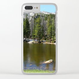 Dreamy View Of Nymph Lake Clear iPhone Case