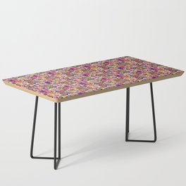 60's Crown of Thorns Quilt Coffee Table