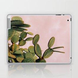 Cactus on Pink Sky Laptop & iPad Skin