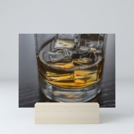 Scotch on the Rocks Mini Art Print