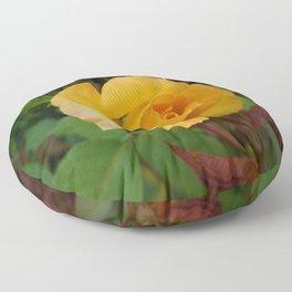 Yellow Rose of TEXAS Floor Pillow