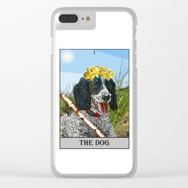 The Dog Tarot Clear iPhone Case