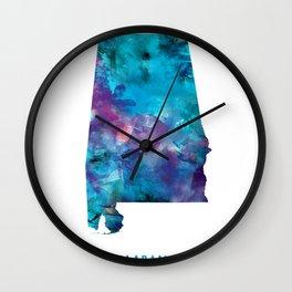 Alabama Wall Clock