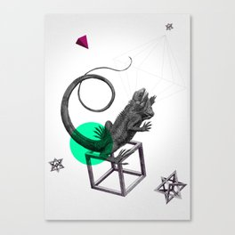 Zoologica Serie: Ambition Canvas Print
