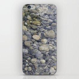 River + rocks iPhone Skin