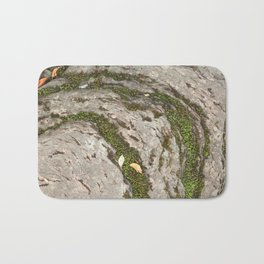 Mossy Stone Curves Bath Mat