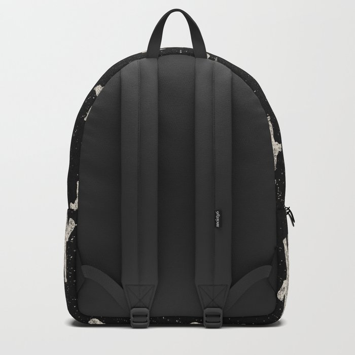 Polar Bear in Winter Snow on Black -Wild Animals-Mix and Match with Simplicity of Life Backpack