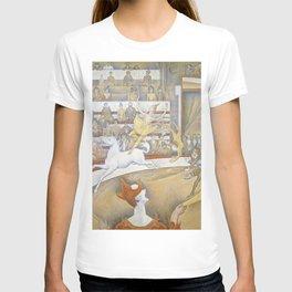 Georges Seurat - Le Cirque T-shirt