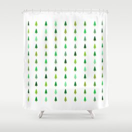 99 trees, none of them a problem Shower Curtain