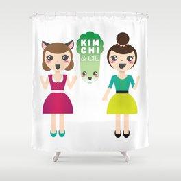 Alexandra et Kim! Shower Curtain
