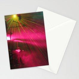STRFCKR concert lasers Stationery Cards
