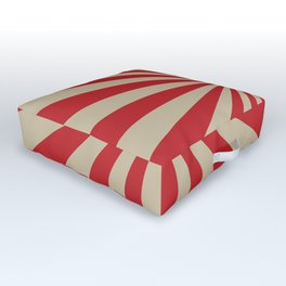 Vintage stripes Outdoor Floor Cushion