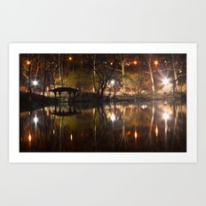 Central Park Fairytales Art Print